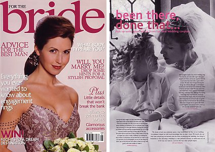For The Bride, May/June 2002, Been there, done that...