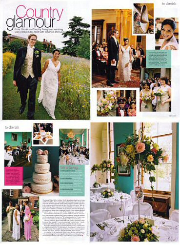 Brides, September/October 2006, Country Glamour